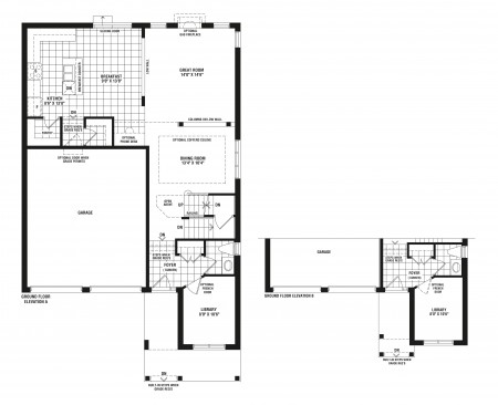 Mulberry meadows sundial homes thesimcoe housetype for 126 simcoe floor plan